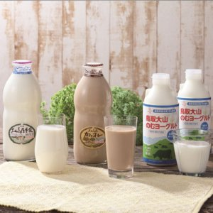 画像2: ☆送料込み☆【大山乳業】大山高原 ギフトミルク&のむヨーグルト(冷蔵)