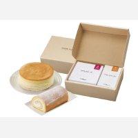 ☆送料込み☆ロールケーキとチーズケーキ【大山乳業】 大山ティータイムギフト (冷凍)