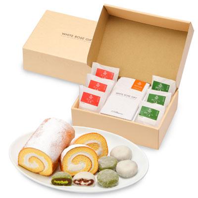 【大山乳業】大福とロールケーキの詰合せ 商品写真