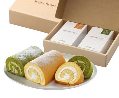 【大山乳業】ロールケーキと抹茶ロールケーキの詰合せ 商品写真